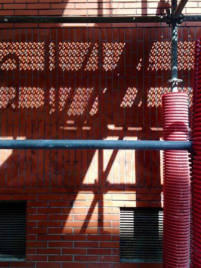 WIP Light And Shadows Red Urban Geometry Streetphotography Minimalism