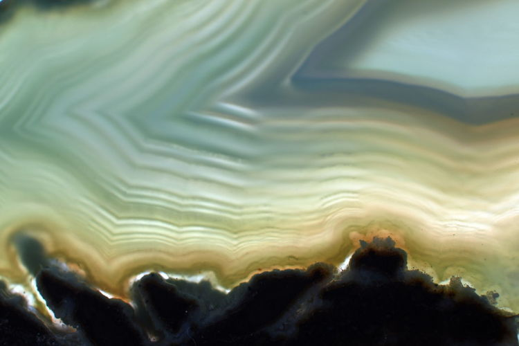 Beauty In Nature Close-up Day Gemstone  High Angle View Nature Outdoors Pattern Rippled Rock Silhouette Solid Tranquility