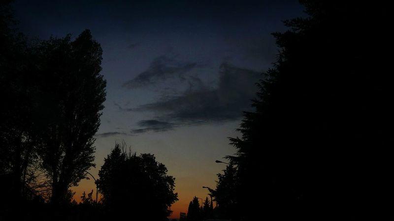 Seguendo la strada del crepuscolo At Dusk Showcase: November On The Road Where Is The Sun? Sky And Clouds