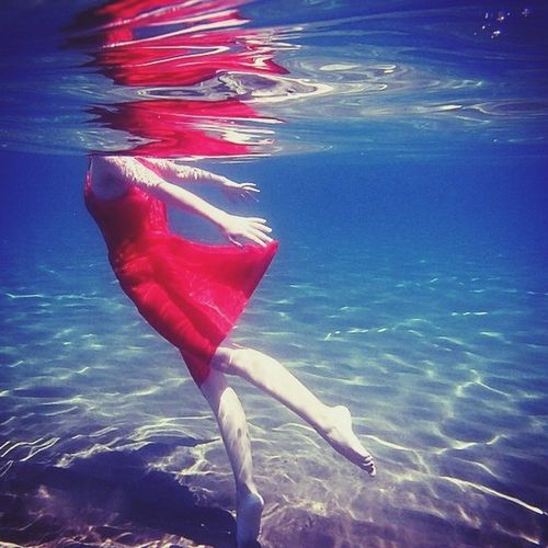 Water miss red dress Red Dress ♡