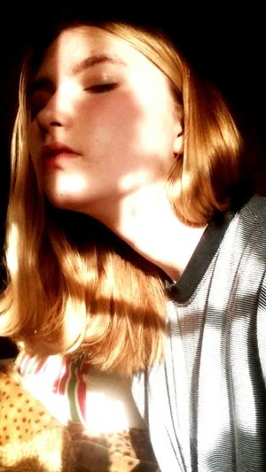 Young Women Beautiful Woman Females Portrait Headshot Close-up