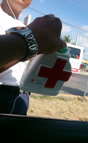 CruzRojaMexicana cuando fue en Quintanaroo DonacionesConFinalFeliz