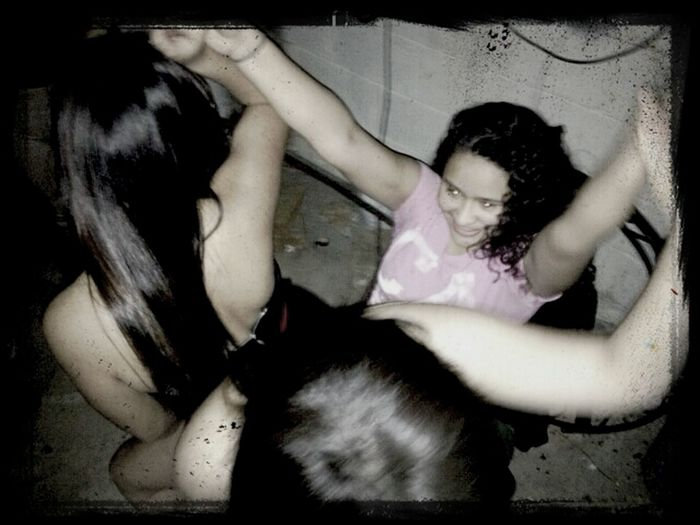 Getting my birthday lap dances ^_^ #2BadFemales #Vivi #Jackie #Uff