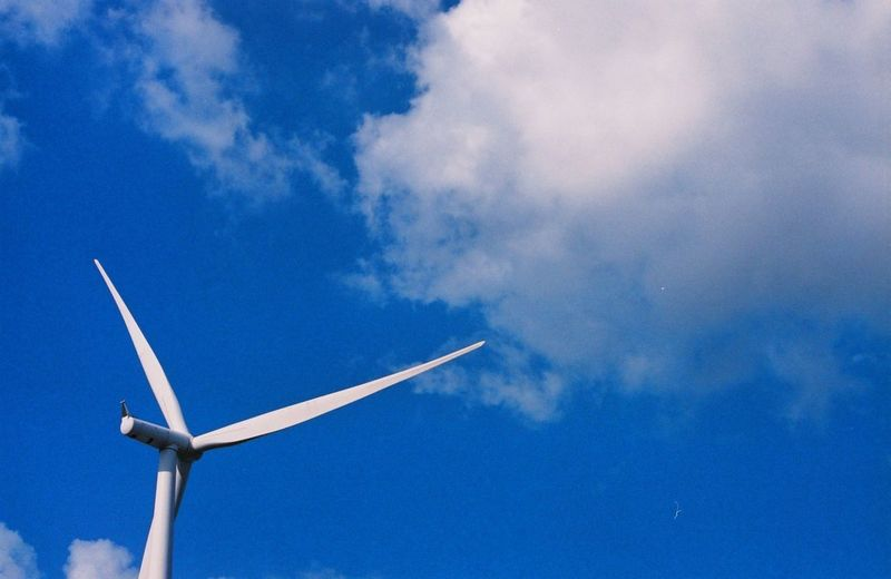 Wind power at