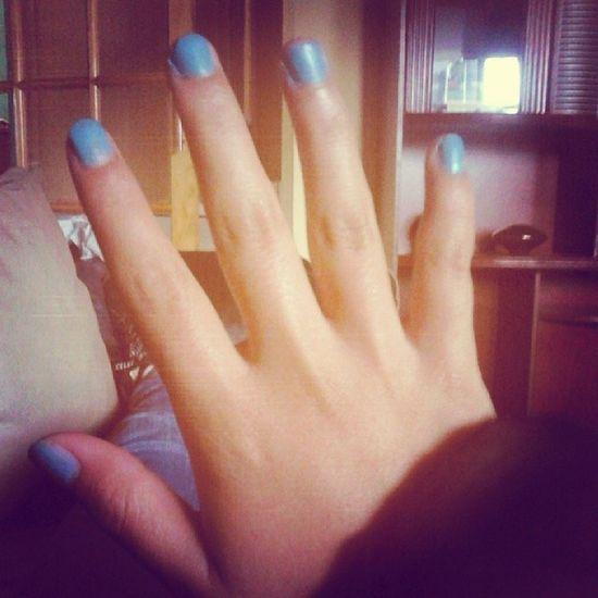 Uñas Azules DiosAyudame .