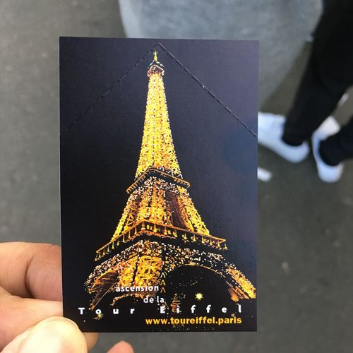 paris My Ticket TourEffeil Travel Photography Travelmemories Ticket EyeEm Selects Human Hand City Christmas Decoration Low Section Christmas Celebration Tree christmas tree Christmas Lights Close-up