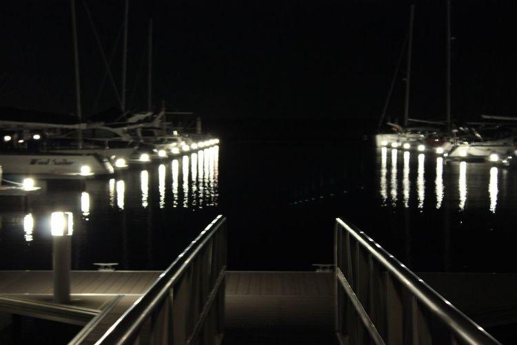 Holiday Night View Night Ship