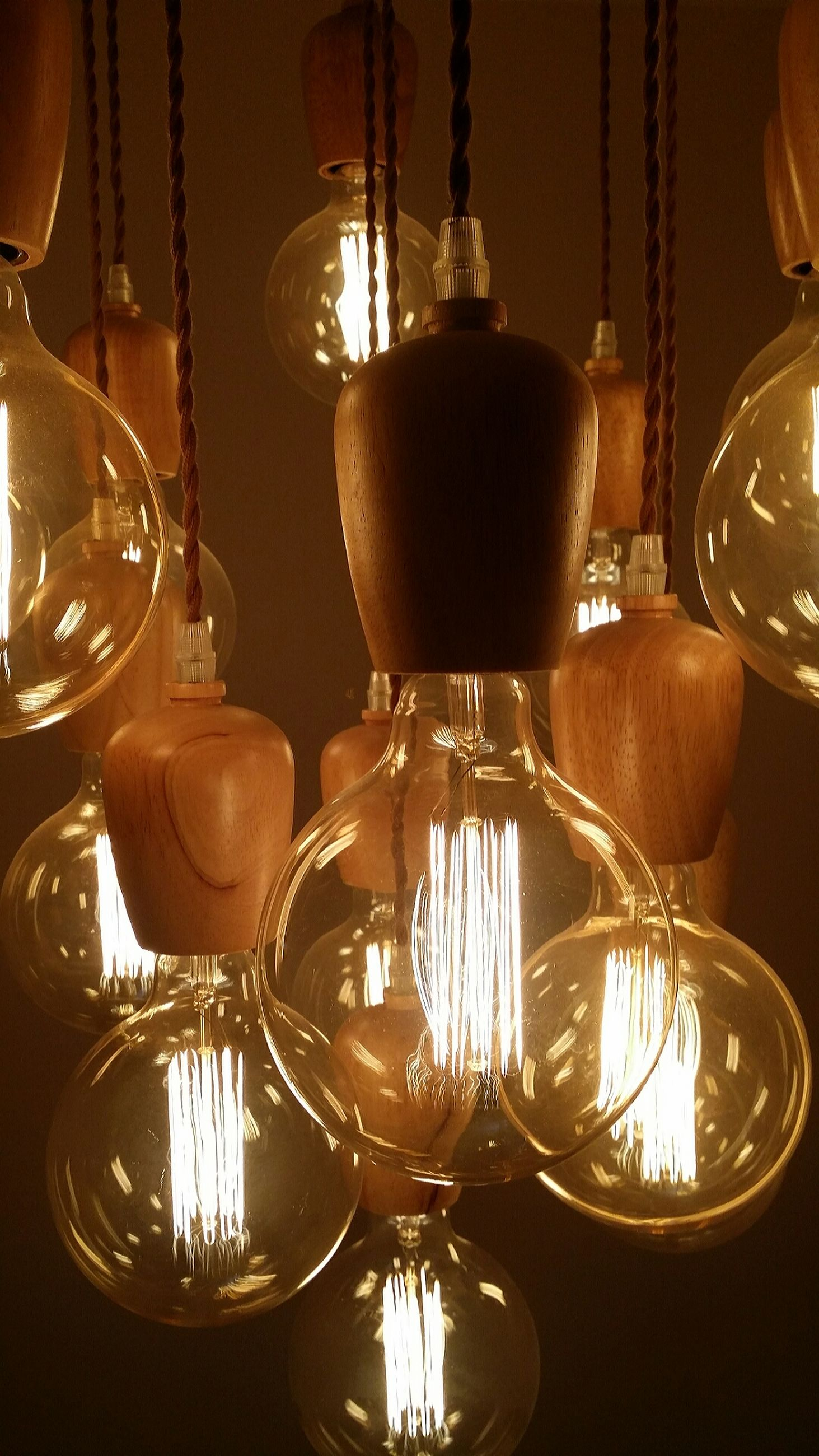 illuminated, lighting equipment, hanging, electricity, no people, indoors, variation, close-up