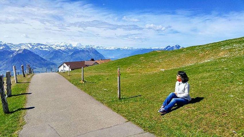 여유 루체른 스위스 하이킹 여행 여유 리기산 리기쿨룸 Lucerne Luzern Swiss Switzerland Hiking Tour Rigi Rigikulm