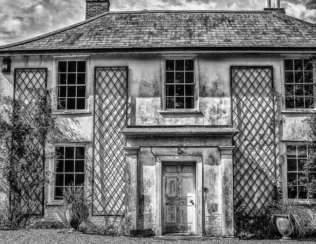 Ancient house, untouched for decades waiting to be restored in Suffolk, UK Derelict Suffolk, United Kingdom Abandoned Architecture Black And White Black And White Collection  Black And White Photography Building Building Exterior Built Structure Country House Derelict Building Exterior Hauntedplaces House Old House Old House Abandoned
