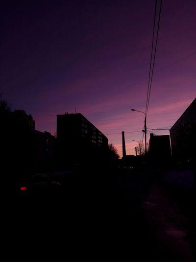Good Morning City Sky Sunset