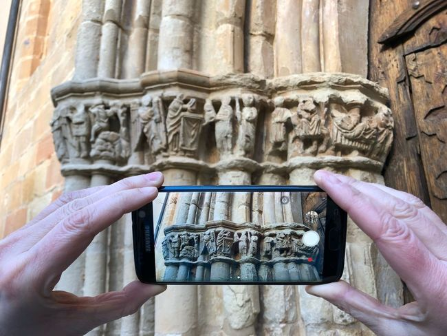 Art Human Hand Human Body Part Holding One Person Human Finger Communication Close-up Architecture Photographing Mobile Phone