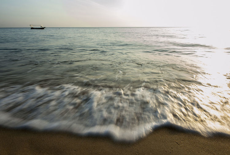 Sunrise_Collection Terengganu, Malaysia Beach Beauty In Nature Day Horizon Over Water Nature No People Outdoors Pantai Mengabang Telipot Sand Sandy Beach Scenics Sea Sky Sunrise Tranquil Scene Tranquility Water