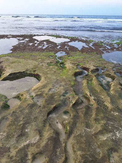 Balangan Beach Bali, Indonesia Rock Formation Coral Sealine Nature