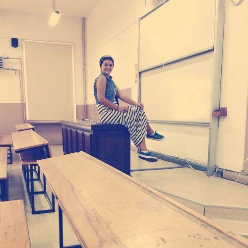 University Smile :) Photooftheday Hello World