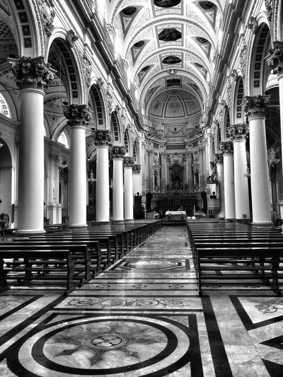 Modica Kirche Black And White Absolutely Beautiful