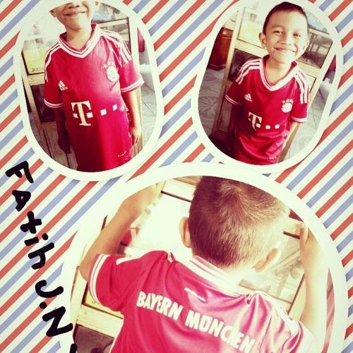 Namja 07line Good Boys jersey fc bayern munchen red fatihjibrannubaidyuri .. ^__^