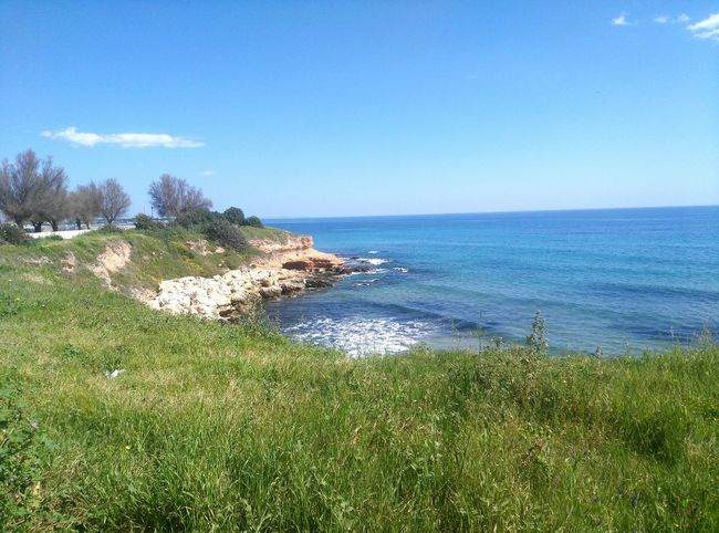 Sea Water Nature Beach No People Beauty In Nature Tranquility Scenics Day Landscape Sky Nature Sicily Avola