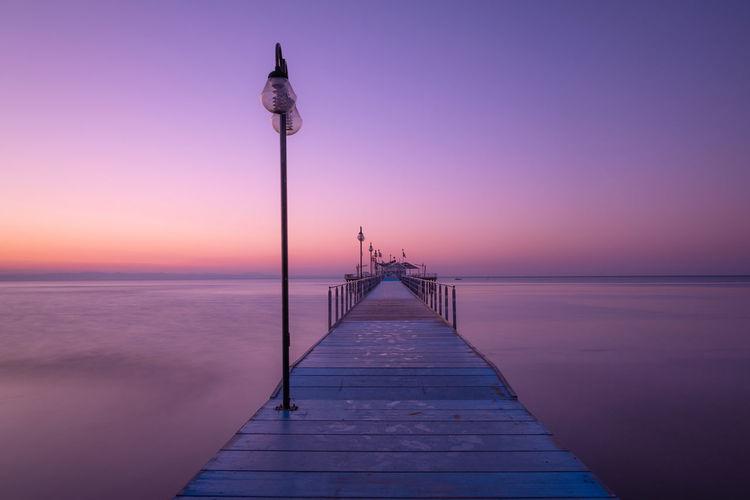 Pier Water Sky