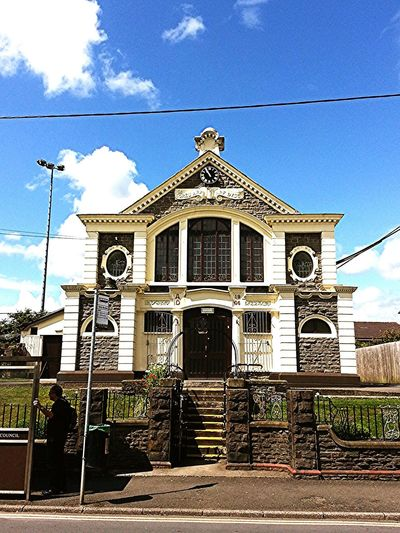 Old Buildings Parish Wales Church Village