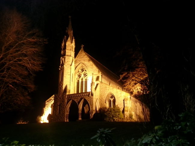 St. Michaels And All Saints Church Church Of England Floodlight St. Michaels Church All Saints  Nightphotography Night Religion Architecture Built Structure Spirituality No People Outdoors Building Exterior Place Of Worship Sky