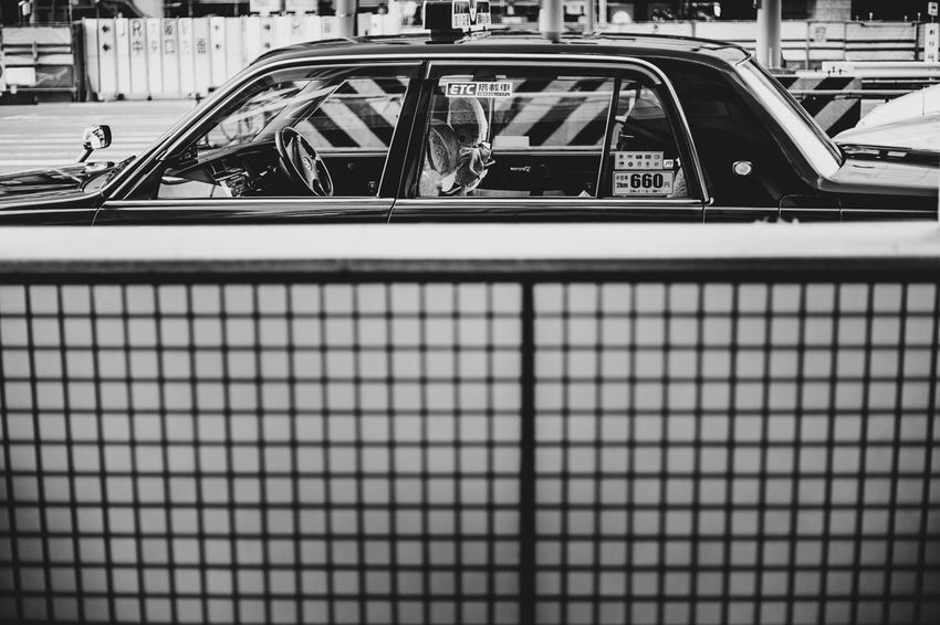 OSAKA Japan Blackandwhite Bnw Car