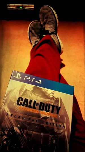 The Wait Is Over  COD:Advance Ware Only On PS4 Time To Get Serious