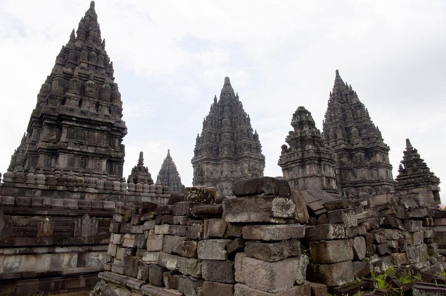 Prambanan Temple - Yogjakarta - Indonesia INDONESIA Jogjakarta Prombanan Buddhist Temple Prambanan Prambanan Temple Temple Yogjakarta
