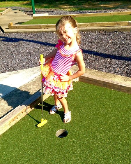 Capturing Freedom Faces Of Summer Daughter Daddy's Girl Mini Golf
