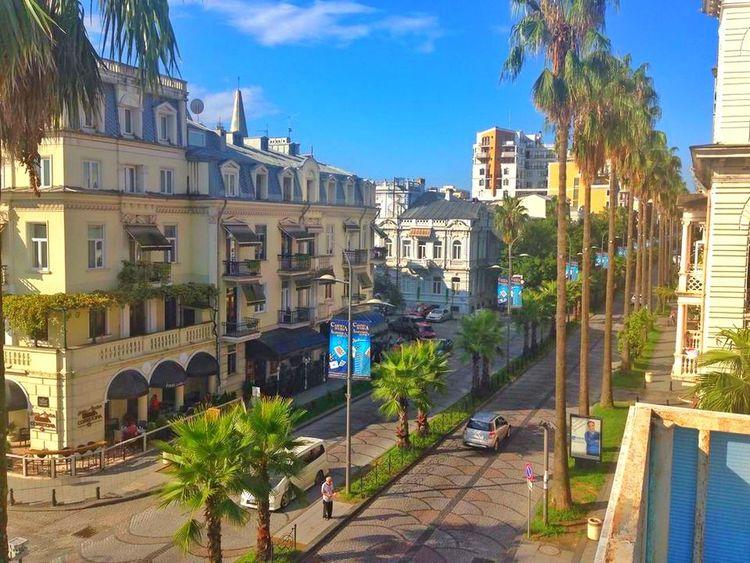 Gürcistan Tiflisi Batum Gürcü Batumi Eyyem Photo Happiness Serenity Sunny City City Street Blue Architecture 💕💕💕💕💕💕💕 ❣❣❣❣