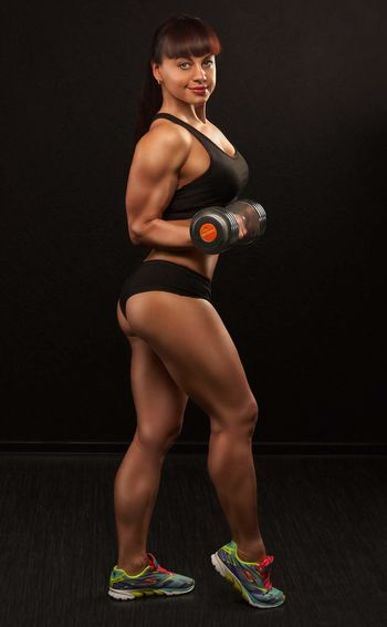My girlfriend Anna Russia россия Samara Fitness