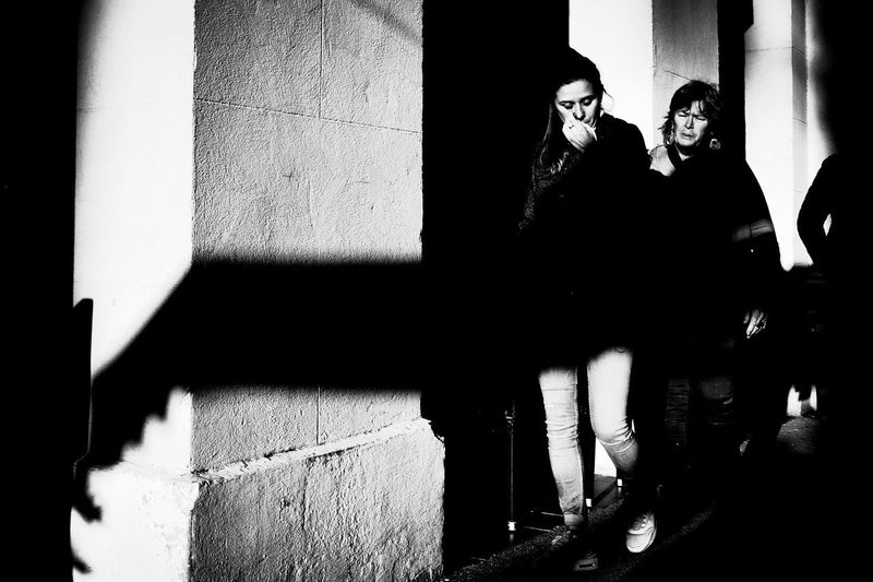 28mm Ricoh Gr Streetphotography Black And White Contrast Light And Shadow Light Nikond610 28mm Lens Candid Photography Monochrome_life Candidshot Bw_lover First Eyeem Photo Sadness Wall Street Streetmood Sunny Day Wintertime Côte D'Azur