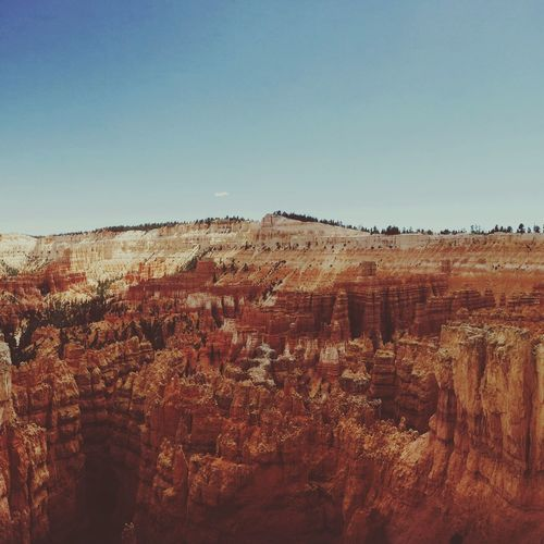 Bryce Canyon. Too crazy to capture it with a phone. EyeEm Nature Lover EyeEm Best Edits EyeEm Best Shots Bryce Canyon