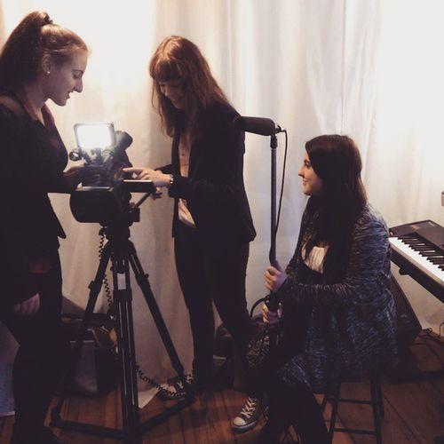 Interview Action. Music Musician Interview Camera Berlin Video