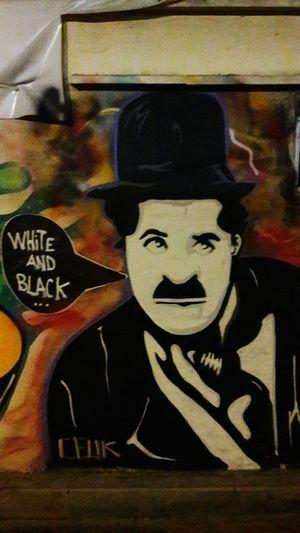 Charliechaplin Graffiti Art Graffiti Wall
