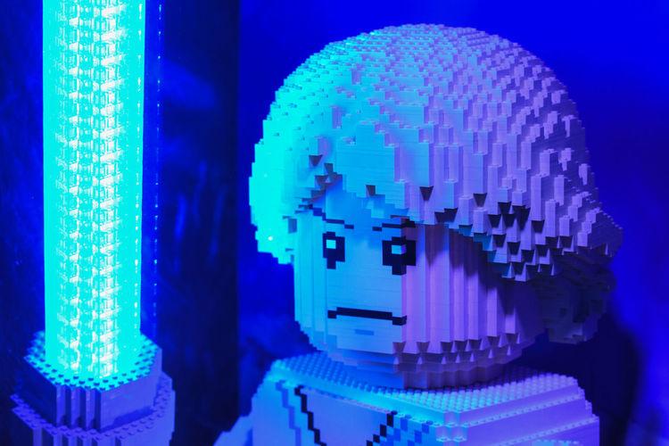 LEGO LEGO STAR WARS!! Lego Star Wars  Lego Land Legoland Luke Skywalker Blue Glowing Lego Star Wars Photography Lego Starwars Legoland Windsor Legophotography Starwars