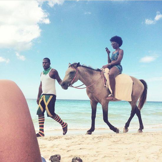 Jamaican,jamaica,see Beautiful,sunshine,boy Black Girl,smile,hollidays Love Hourse Beach