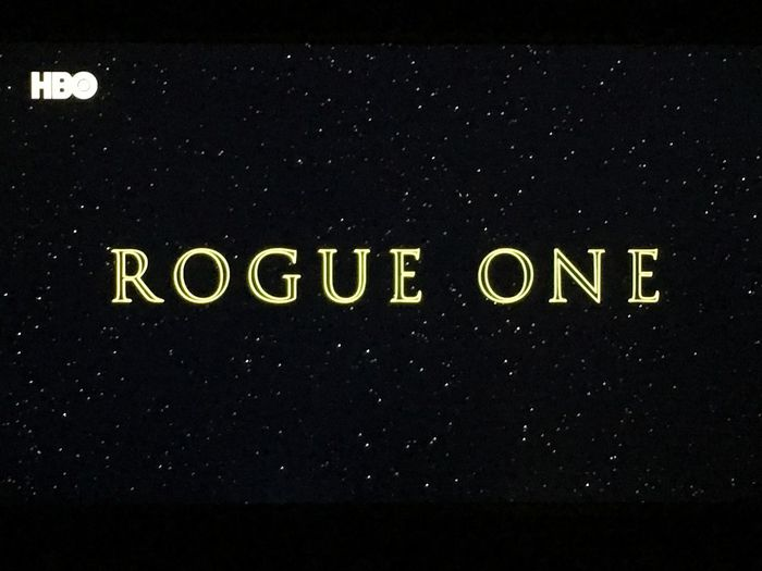 🍿🍿🍿👌 Que La Fuerza Te Acompañe Retomando La Zaga Indoors  MOVIE Relax Night In My House Cinema Rouge One Star Wars Text Communication No People Night Outdoors Close-up