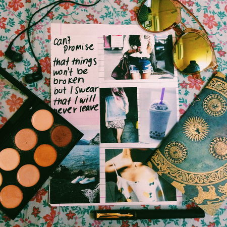 Daily Essentials Taking Photos Flat Layout Juice Contour Pen Daily Diary Journal Style Fashion Photography VSCO Music Headphones Sunnies Sunglasses Shades Color