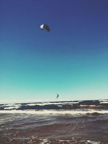 Wind Surfer Riga Latvia Sea And Sky EyeEmNewHere