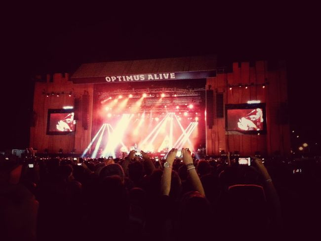 Awesome Performance Music Optimusalive FF365 Depeche Mode #Live
