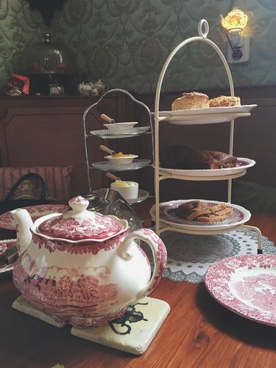 Tea Tea Time Tea - Hot Drink Cute Warm Cozy Cozy At Home Home Afternoon Tea Teapot Sweet Food Indoors  Tea Cup Freshness Food And Drink Food Cakestand Party Scone Cultures England Drink No People Old Old-fashioned