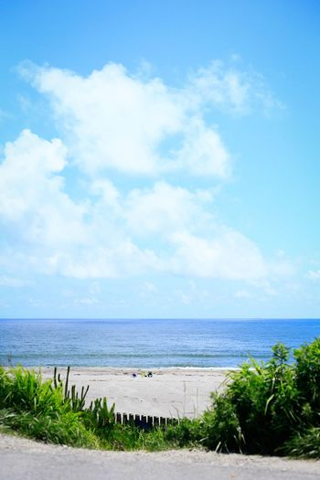 Outdoors Water Blue No People Day Scenics Beauty In Nature Nature Beach Cloud - Sky Sky Sea Seaside Seascape Summer Summertime Summer Views