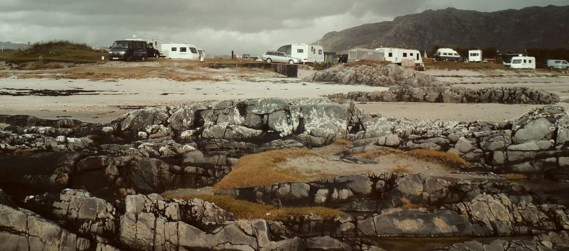 Seaside Rocks Caravan Park Holidays Beautiful View Getting Away From It All West Coast Scotland Invercaimbe Wild Landscape Relaxing By The Sea