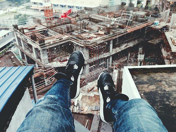 Hanging on AJ4 Shoes Air Jordan Air Jordan 4 Open Edit Hello World Enjoying Life