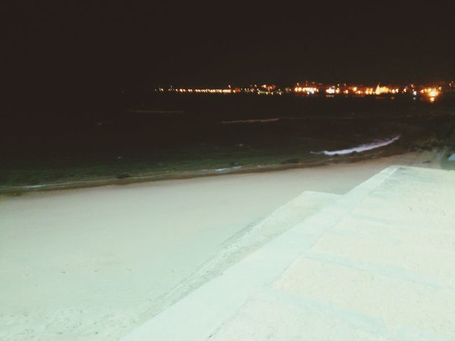 New Years Eve 2016 Cascais Beach At Night No People