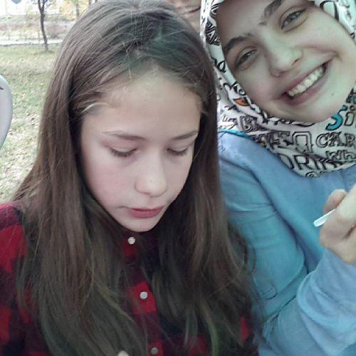 Bayramdan Foto ğraf With Little sis