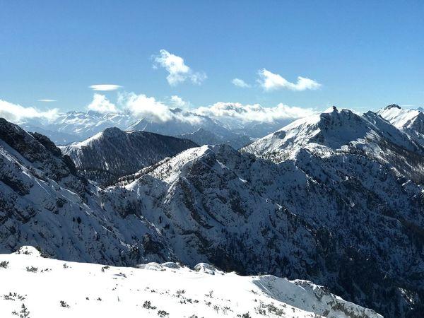 Hinterstoder. Austria. Alps Oesterreich Hinterstoder Austria Snow Winter Mountain Cold Temperature Snowcapped Mountain Nature Beauty In Nature EyeEmNewHere