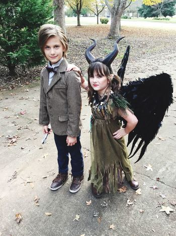Dr. Who and Maleficent!