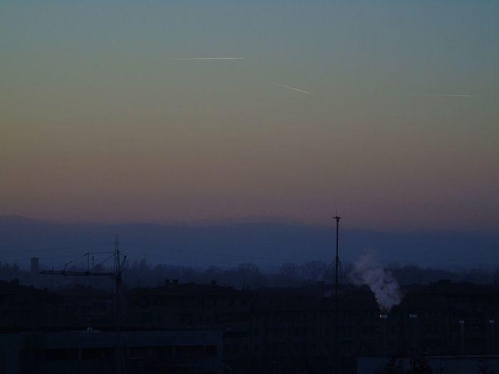 Nature Sunset Silhouette Sky Minimal